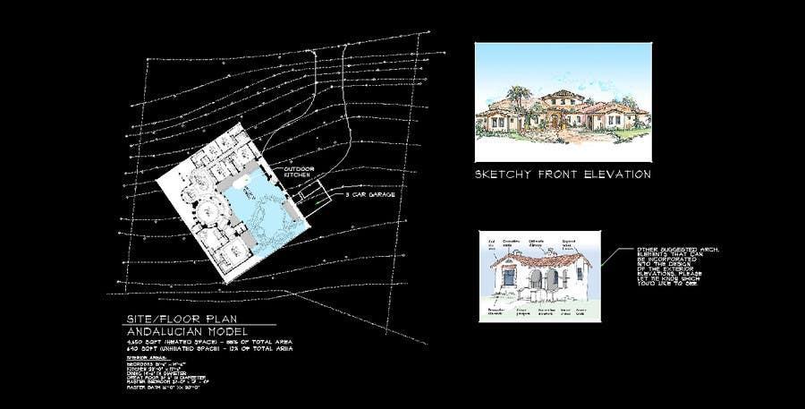 Bài tham dự cuộc thi #14 cho Luxury Residential Home Design (Concept)