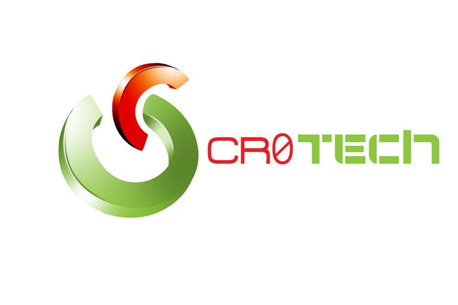 Penyertaan Peraduan #332 untuk Logo Design for CR0Tech