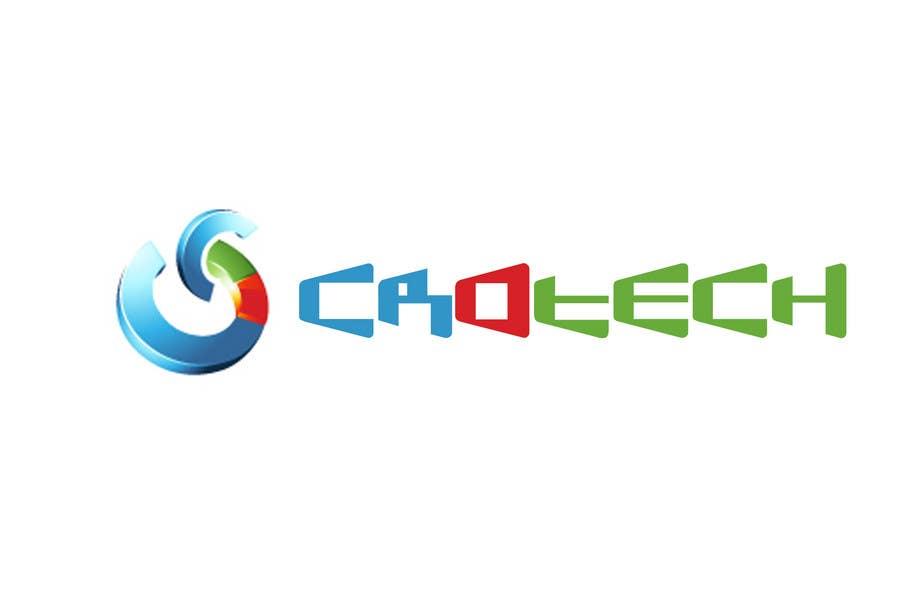 Penyertaan Peraduan #355 untuk Logo Design for CR0Tech