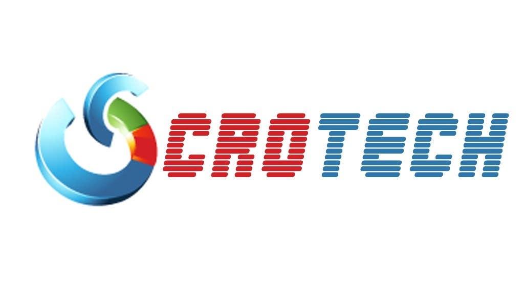 Kilpailutyö #                                        561                                      kilpailussa                                         Logo Design for CR0Tech