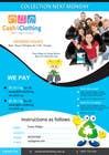 Graphic Design Konkurrenceindlæg #16 for Design a Flyer for Cash4Clothing