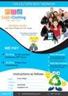 Graphic Design Konkurrenceindlæg #22 for Design a Flyer for Cash4Clothing