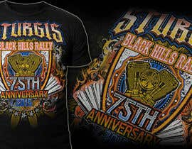 #30 for Design a T-Shirt for STURGIS 2015 75th Anniversary af MayonPunx