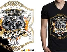 #40 for Design a T-Shirt for STURGIS 2015 75th Anniversary af MadaU