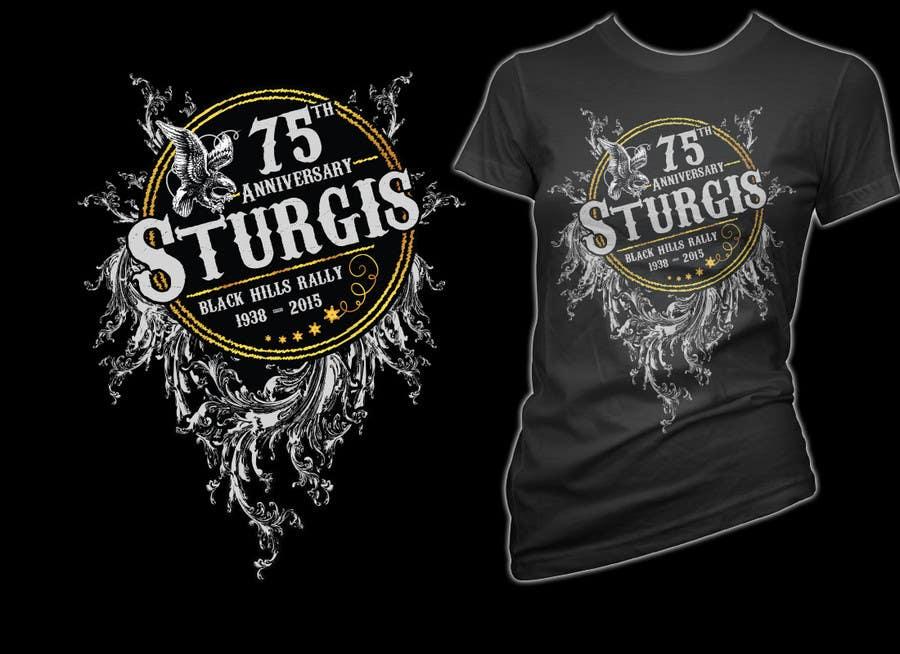 Bài tham dự cuộc thi #31 cho Design a (((LADIES))) T-Shirt for STURGIS 2015 75th Anniversary