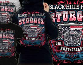 #54 for Design a (((LADIES))) T-Shirt for STURGIS 2015 75th Anniversary af MayonPunx