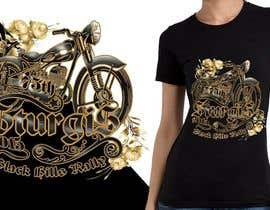 #35 for Design a (((LADIES))) T-Shirt for STURGIS 2015 75th Anniversary af MadaU