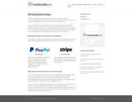 #21 for Design for website (front+subpage) af evileyestudio
