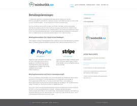 #22 cho Design for website (front+subpage) bởi evileyestudio