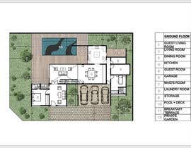 #47 for Floorplan for modern contemporary house by vlangaricas