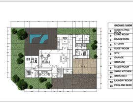 #59 untuk Floorplan for modern contemporary house oleh vlangaricas