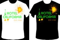 Graphic Design Kilpailutyö #78 kilpailuun Vintage T-shirt Design for HOTEL CALIFORNIA