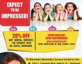#6 for Design a Flyer for Kids Dentistry by arsh8singhs