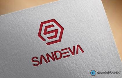 #70 untuk Logo design for name SANDEVA oleh SergiuDorin