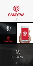 #71 untuk Logo design for name SANDEVA oleh SergiuDorin