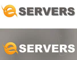 #42 para Design logo for E-Servers.ro por hicherazza