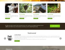 #6 untuk Design a Wordpress Mockup for Eco Bee oleh chancalkmr