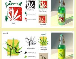 #3 for Create Logo, Print and Packaging Designs for Jane (Cold Press Cannabis Juice) af gazeburgher