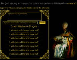 #6 untuk Graphic Design for One page web site for the Saint Of the Internet: St. Isidore of Seville oleh joka232