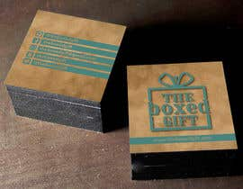 #13 for Design Social Media Business Cards for The boxed Gift af carlostronick