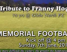 #10 cho Franny Hogan memorial football match bởi shiva1010