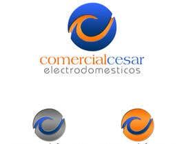 #114 para Diseñar un logotipo for COMERCIAL CESAR por mv49