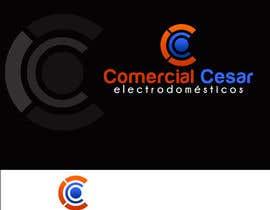 #139 untuk Diseñar un logotipo for COMERCIAL CESAR oleh mv49
