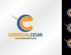 #117 untuk Diseñar un logotipo for COMERCIAL CESAR oleh pherval