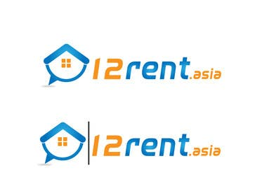 #271 for Design a Logo for 12rent.asia af rraja14