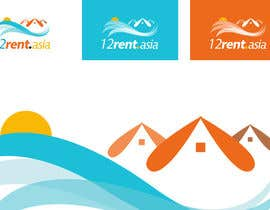 #193 para Design a Logo for 12rent.asia por commharm