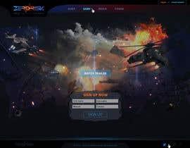 #3 for Design a Website Mockup for RTS Browser Game by Kindland