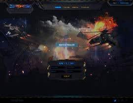 Nro 8 kilpailuun Design a Website Mockup for RTS Browser Game käyttäjältä Kindland