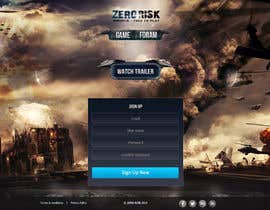 #19 for Design a Website Mockup for RTS Browser Game by tania06