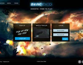 #32 for Design a Website Mockup for RTS Browser Game by PeterPanek