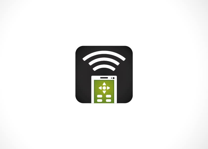 #172 for TV remote control APP Icon design by jakuart