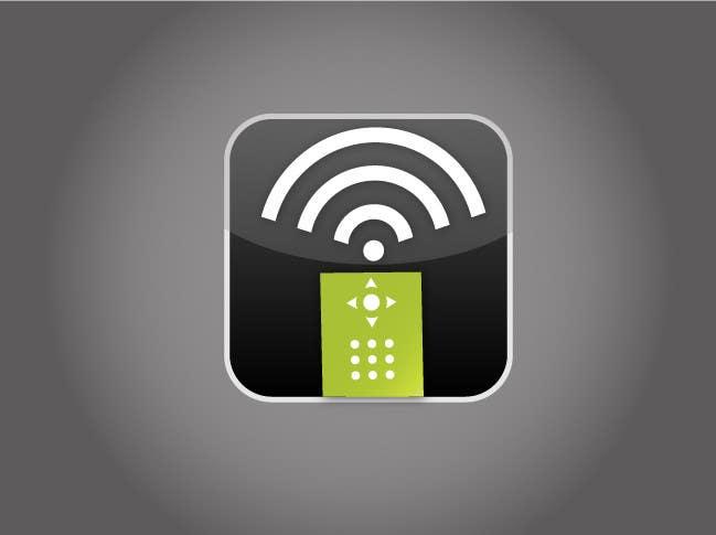 #177 for TV remote control APP Icon design by xrevolation