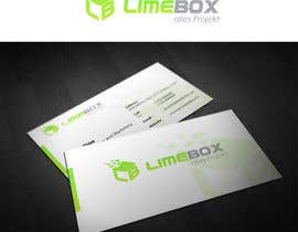 #136 untuk Design a Logo and a business card for limebox oleh genqydy