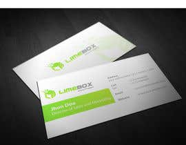 #137 untuk Design a Logo and a business card for limebox oleh genqydy