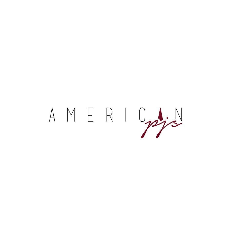 """Bài tham dự cuộc thi #59 cho Design a Logo for a Sleepwear Fashion Company """"AmericanPJs"""""""