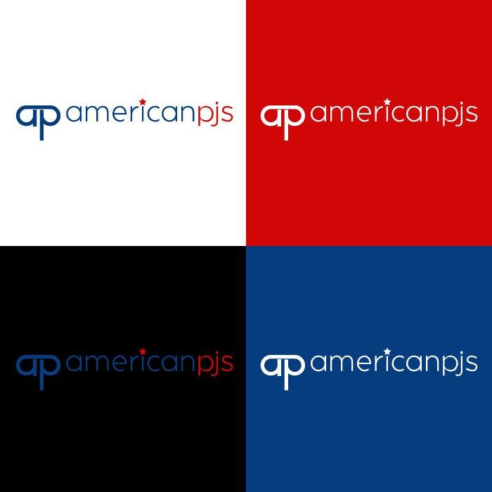 """Bài tham dự cuộc thi #43 cho Design a Logo for a Sleepwear Fashion Company """"AmericanPJs"""""""