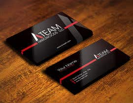 #19 for Design some Business Cards for A Team Hardwoods by IllusionG
