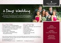 Bài tham dự #15 về Graphic Design cho cuộc thi Design a Flyer for my wedding photography workshops