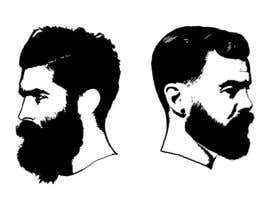 #42 cho Illustrate a tough manly masculine bearded rough FACE bởi tmkhung