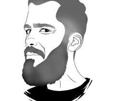 #54 cho Illustrate a tough manly masculine bearded rough FACE bởi a7mdmostafa