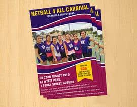#21 cho Design a Flyer for Netball Carnival bởi dinesh0805