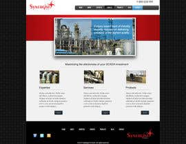 #27 untuk Wordpress Theme Design for Synergist SCADA INC oleh zoreli