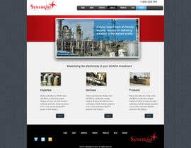#31 untuk Wordpress Theme Design for Synergist SCADA INC oleh zoreli