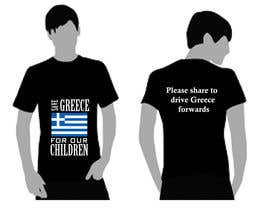 #8 para ออกแบบเสื้อยืด for Save greece por amdisenador