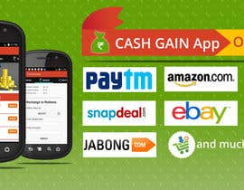 #5 for Design a Coverpage & Banner for Cash Gain App af sohailsaleem25