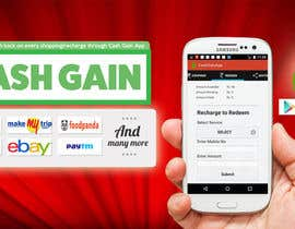 #11 for Design a Coverpage & Banner for Cash Gain App af mermiliun